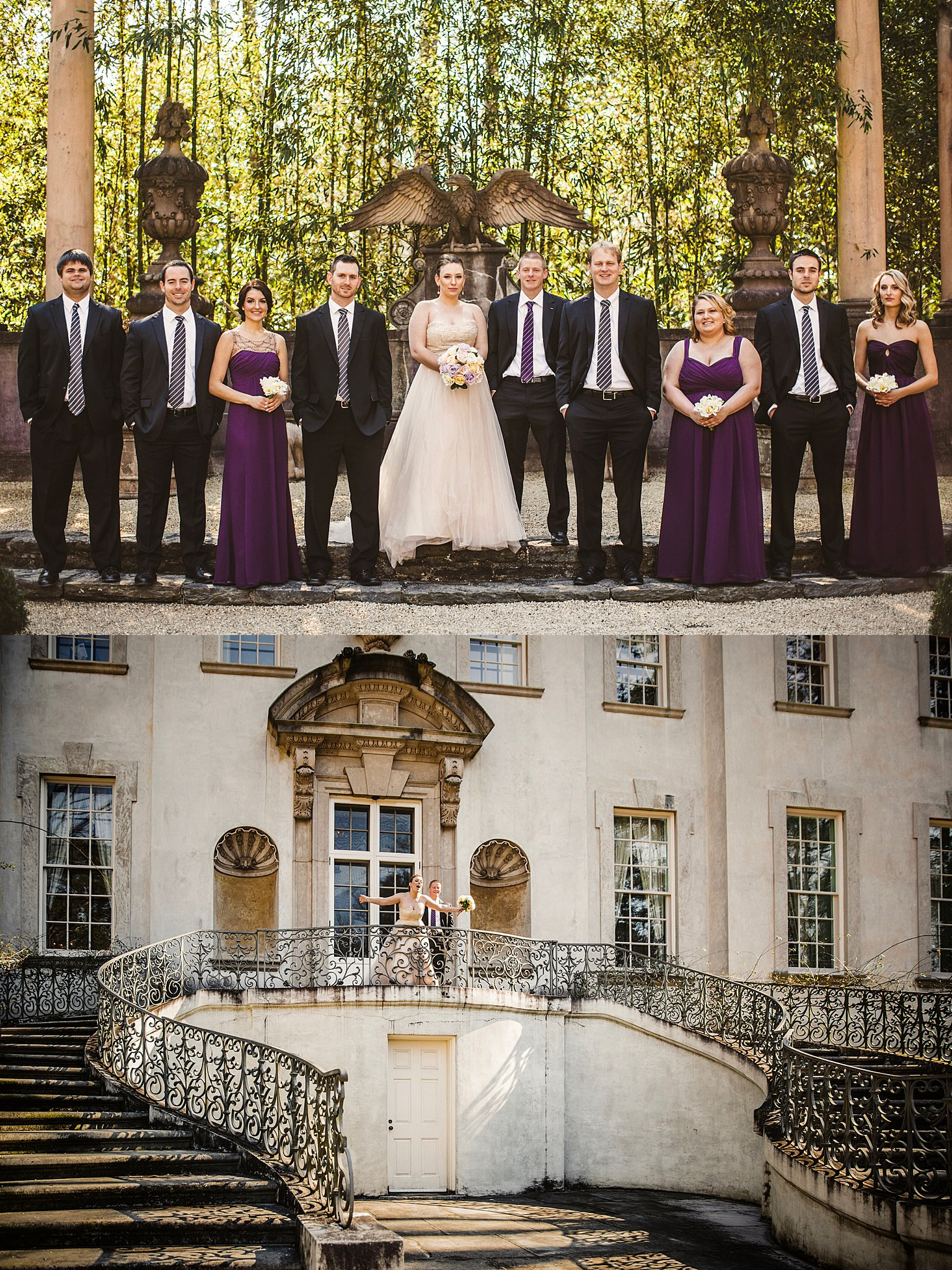 Atlanta Wedding Photographers Swan House Wedding