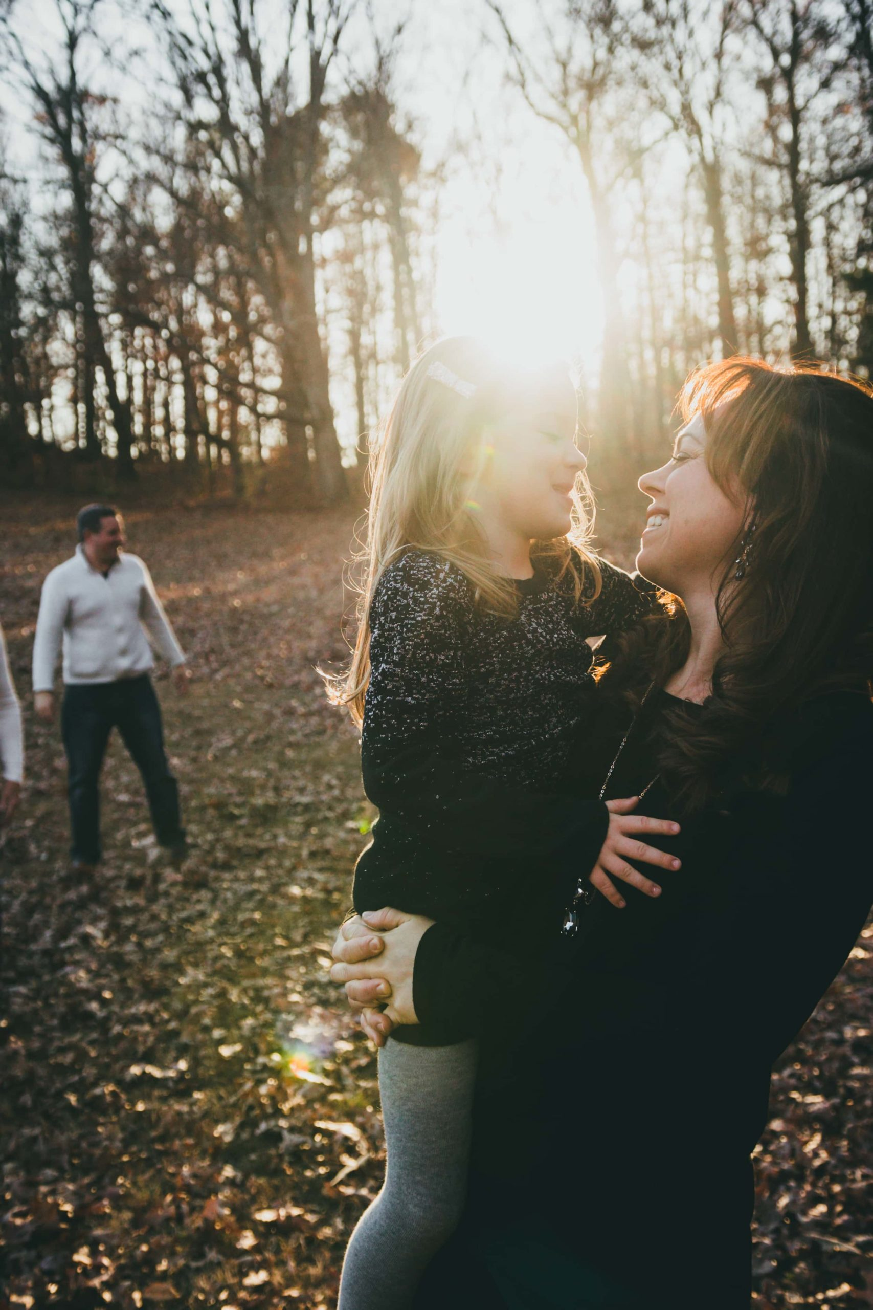 Atlanta Family Photographer Fall pictures Mommy and Me Golden Hour